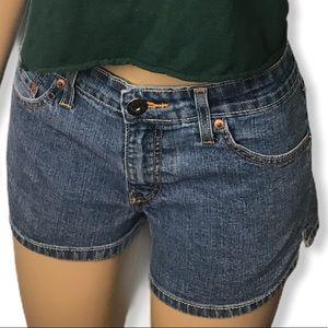 Levi's Jeans 518 shorts Super Low medium wash